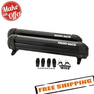 Rhino Rack 574 Ski And Snowboard Carrier 4 Skis Or 2 Snowboards