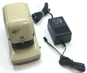 Flat Clinch Max Electronic Stapler Model Eh 50f Tested Includes Power Cord