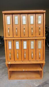 Library Card Catalogue From Danvers State Hospital Solid Wood Medical