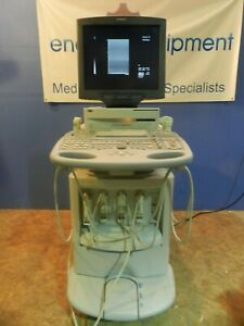 Siemens Acuson Sequoia 512 Ultrasound With 4 Probes transducers See Ad