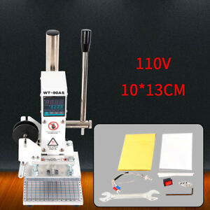 Digital Hot Foil Stamping Machine Heating Fast Leather Embossing With Holder