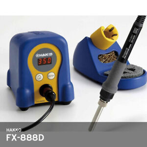 Hakko Fx 888d Digital Temperature Soldering Station Iron 220v 392 896 f Track