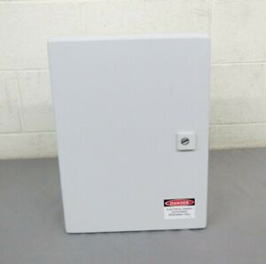 Rittal Wm 1034250 Sealed Industrial Steel Wall Mount Enclosure 210x300x400mm