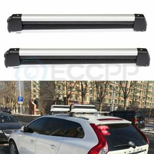 Top Roof Rack Well Made Unliversal Ski Carriers Mount For 2 Snowboard Or 4 Skis