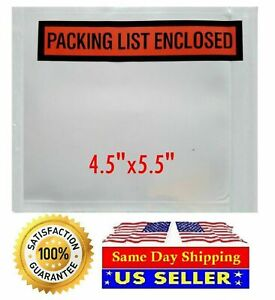 Packing List Envelopes Invoice receipt Slips Clear Poly Pouches 1000 2000 5000