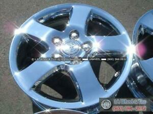 Set Of 4 Chrome Oem Wheels For Toyota Camry 16 69416