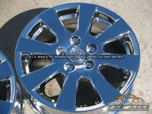 Set Of 4 Chrome Oem Wheels For Toyota Camry 16 69417