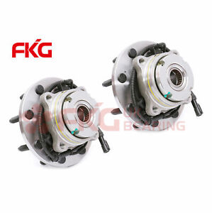 2 Front Wheel Hub Bearing Assembly For Ford F 250 F 350 Sd 4x4 4wd W Abs 515020