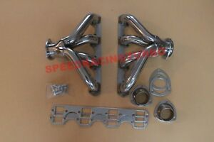Big Block Bbc Cadillac V8 472 500 Stainless Steel Exhaust Racing Headers bolts