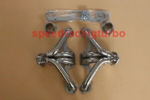 Exhaust Headers Fits Dodge Chrysler Plymouth Small Block 273 360 5 2 5 6 Shorty