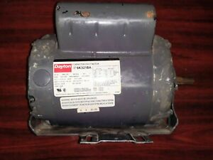 Dayton 6k321ba Electric Jet Pump Motor 1hp 115 208 230v Frame 56