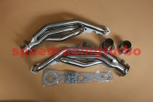 88 97 Chevy Gmc Truck Small Block 307 327 305 350 400 Stainless Exhaust Header