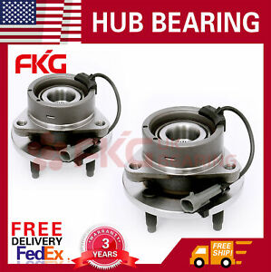 Front Wheel Bearing Hub For Chevy Cobalt Saturn Ion Pontiac G5 4lug Abs 513204x2