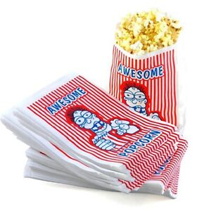 1000 Premium Grade 2 Ounce Movie Theater Popcorn Concession Bags 10 X 6 Inches