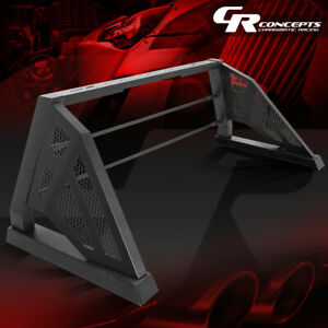 Heavy Duty Truck Bed Chase Rack Black Roll Bar For 09 18 Ford F150 Styleside