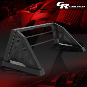 Heavy Duty Truck Bed Chase Rack Matte Black Roll Bar For 04 14 Chevy Colorado