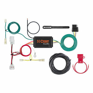 Curt Custom Vehicle to trailer Wiring Harness 56280 For 2016 Mazda 6