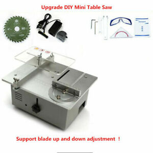 Mini Table Saw Desktop Wood Cutting Machine Bench Saw For Woodworking Lathe Diy