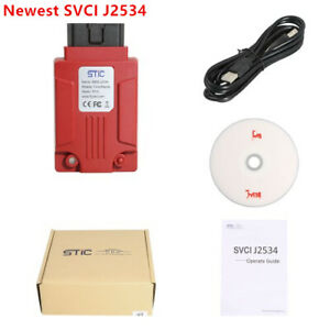 Svci J2534 Diagnostic Tool For Ford mazda Ids Support Online Module Programming