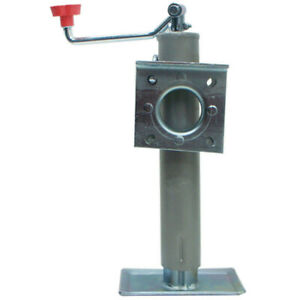 Trailer Jack Straight Tongue 2000 Lb Capacity Weld On Side Mount
