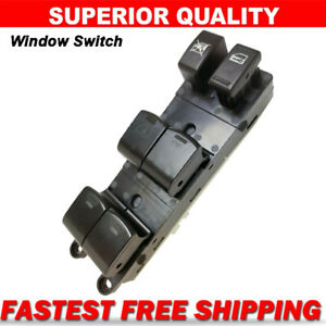 Power Window Master Control Driver Switch For 2010 2011 2012 Nissan Versa