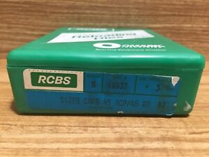 RCBS Reloading Die Set 18937 Group B Seater Sizer Holder 45 ACP AR 🇺🇸