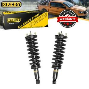 2x Front Loaded Shock Strut W Coil Spring Assembly For Toyota Tundra 2000 2006