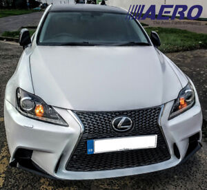06 13 Lexus Is 250 350 F sport Front Bumper Conversion 2is To 3is W fog Lights