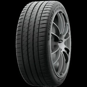 1 New Michelin Pilot Sport 4s 295 30zr20 Tires 101y 295 30 20