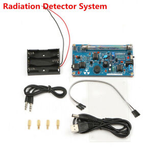 Assembled Geiger Counter Kit Nuclear Radiation Detector Beta Gamma Ray Arduino
