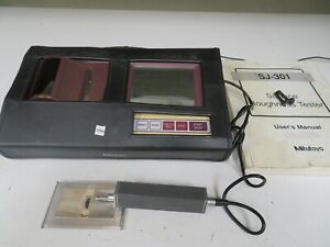 Mitutoyo Sj 301 Surftest Surface Finish roughness profilometer Nn66