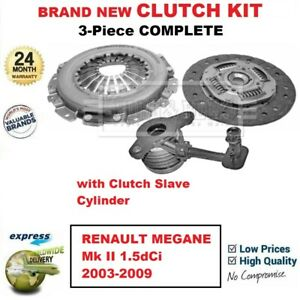 For Renault Megane Mk Ii 1 5dci 2003 2009 Brand New 3 piece Clutch Kit With Csc