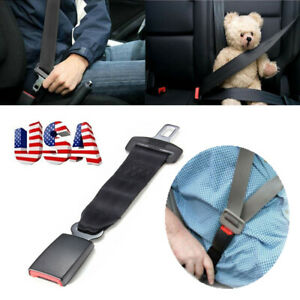 Universal Car Seat 14 Seatbelt Safety Extender Belt Extension 7 8 Buckle