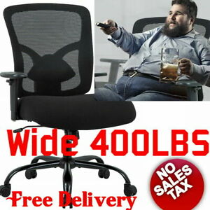 Big And Tall Heavy Duty Oversized Office Chair Ergonomic Computer 400lbs 400 Lb