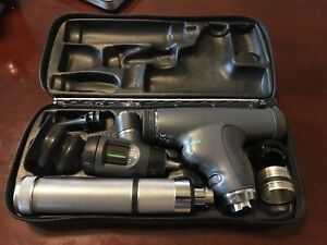 Welch Allyn Panoptic Ophthalmoscope Macroview Otoscope W 3 5v Recharge Handle
