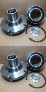 Front Wheel Hub Bearing Kits For 2001 2005 Bmw 325xi Awd Only Pair