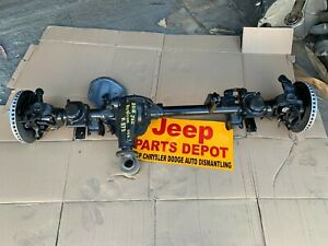 2018 Jeep Wrangler Jk Front Differential Rubicon E locking Axle Dana 44 3 73