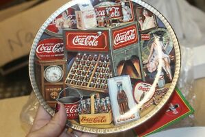 1995 The Eras of Coca Cola 1940-1950 Numbered Edition Collectors Plate