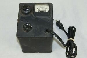 Vintage Standard Electrical Products Adjust a volt Variable Transformer 0 150vac