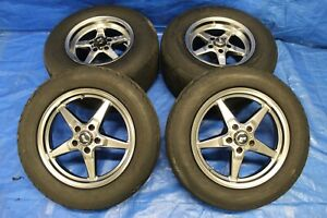 2009 Ford Mustang Shelby Gt500 Sve Drag Classis Wheel Tires 17x4 5 15x10 1171