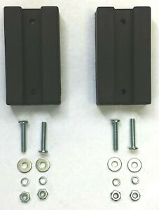 Slat Grill Willys Mb A2922 Mb Early Rubber Hood Blocks Set W Hardware Jeep