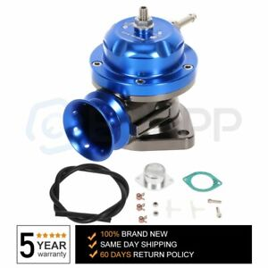 Blue Universal Billet Anodized Type Rs Turbo Blow Off Valve Bov 2 5 Flange Pipe