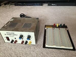 Rsr Regulated Power Supply Breadboard Mb 106 2390 Tie Points 9 4 X 7 7