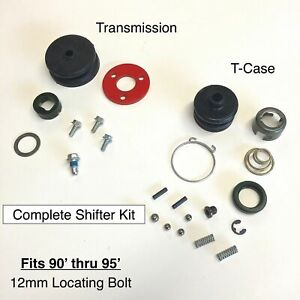 Transmission Shifter Transfer Case Shifter Repair Kit Suzuki Samurai 86 89