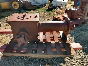 Right Angle Gear Box For Swab Rig Or Pulling Unit