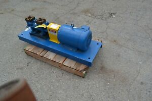 Imo Screw Pump 3dhs 156 10 Hp 3 Phase 208 230 46v Fluid Transfer Hydraulic