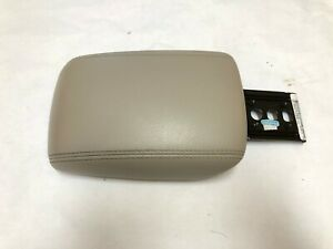 Ford Focus Center Armrest Console Cover Lid Tan Leather 2012 2013 2014 Oem