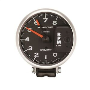 Autometer 3980 Sport Comp Monster Tach 8000 Rpm For 4 6 8 Cyl Eng W Points