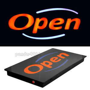 Led Neon Open Sign Bright Animated Display Board For Business Shop Store W chain