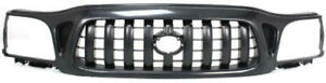 Cpp Black Grill Assembly For 2001 2004 Toyota Tacoma Grille